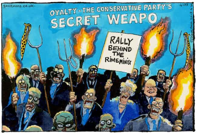 Steve Bell on Tory Conference