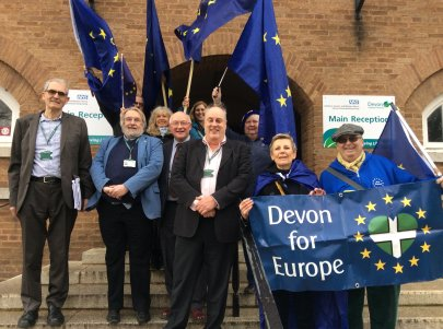 Devon for Europe County Hall 15.2.18
