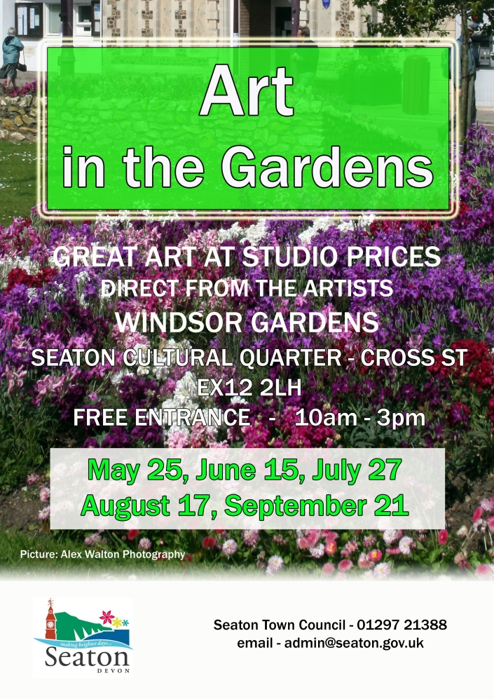 Art in the Gardens Flyer Image