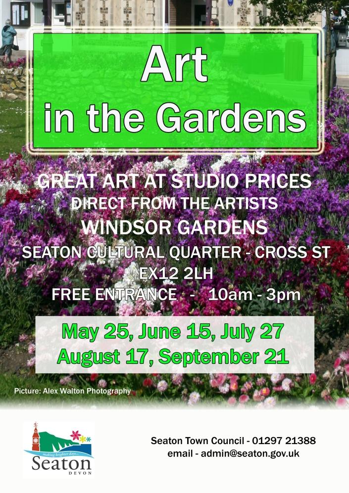Art in the Gardens Flyer Image