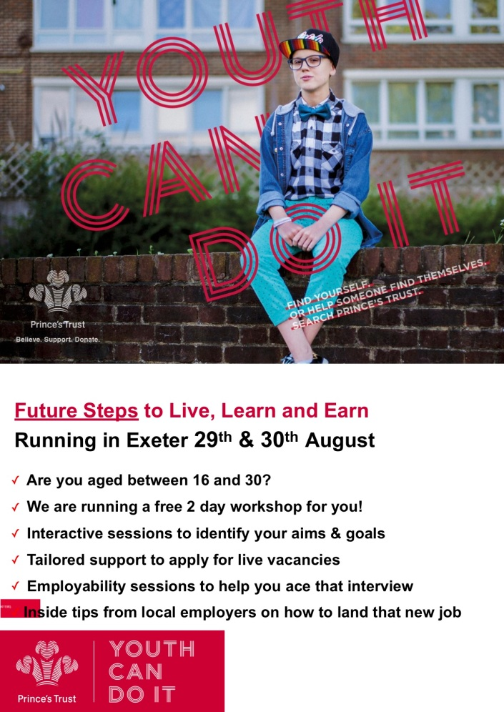 Future Steps - Exeter - Aug